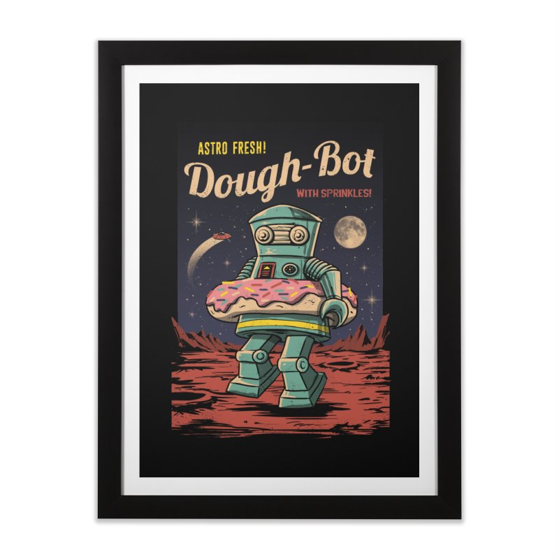 Dough Bot Home Framed Fine Art Print by vincenttrinidad's Artist Shop