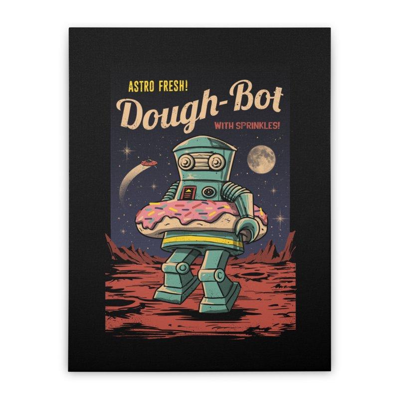 Dough Bot Home Stretched Canvas by vincenttrinidad's Artist Shop