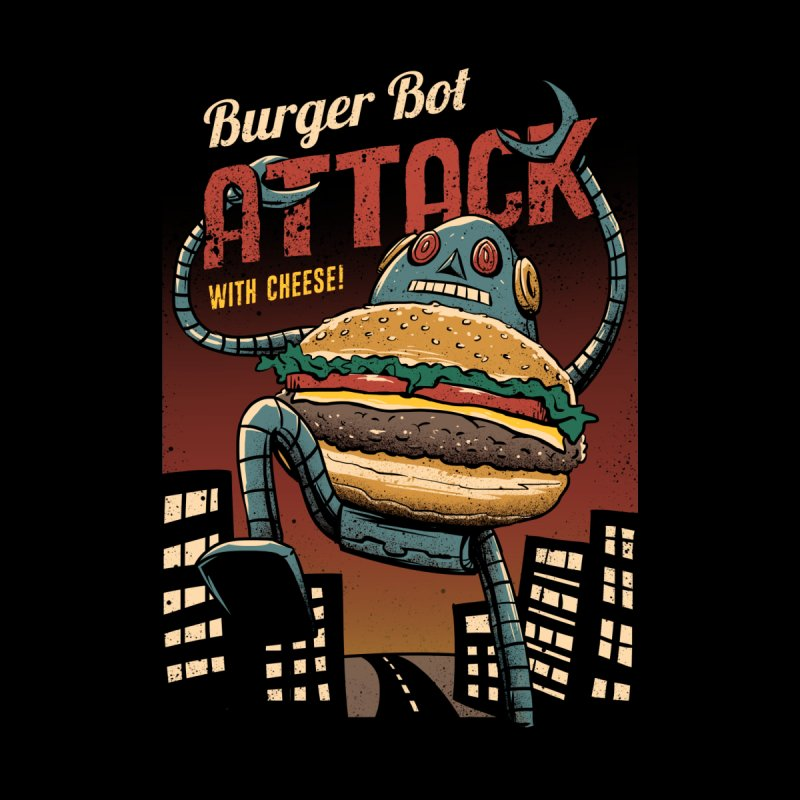 Burger Bot by Vincent Trinidad Art