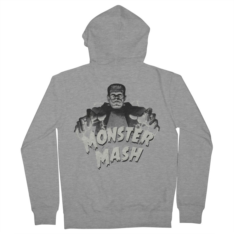 Monster Mash Men's Zip-Up Hoody by vincenttrinidad's Artist Shop