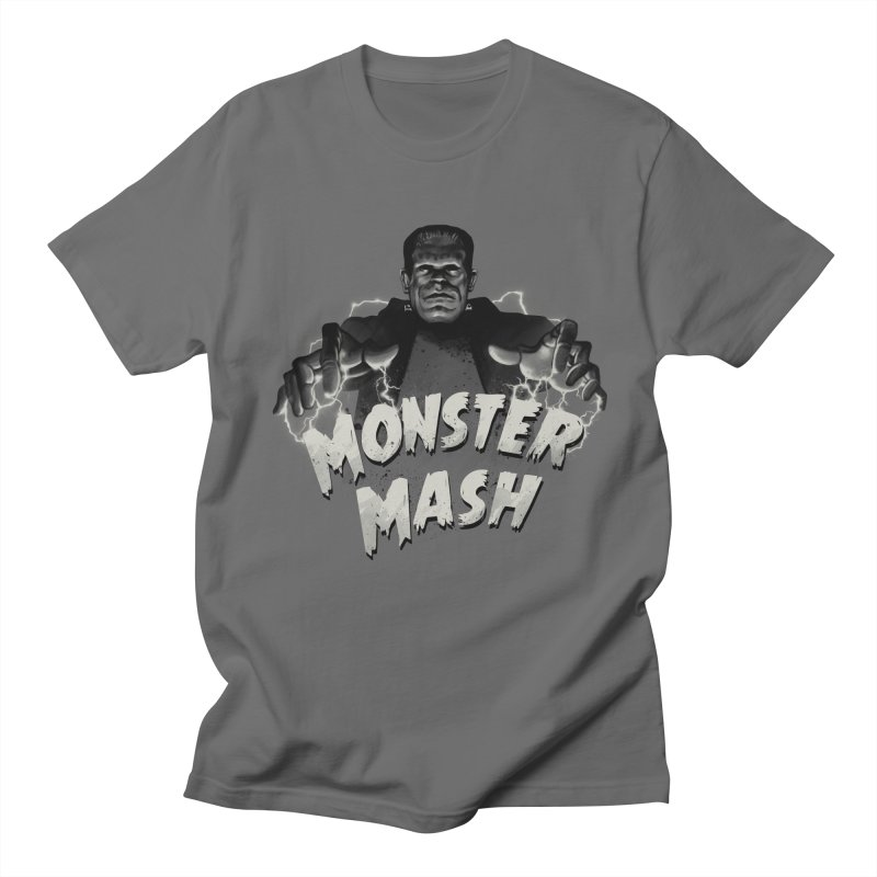 Monster Mash in Men's T-Shirt Asphalt by vincenttrinidad's Artist Shop