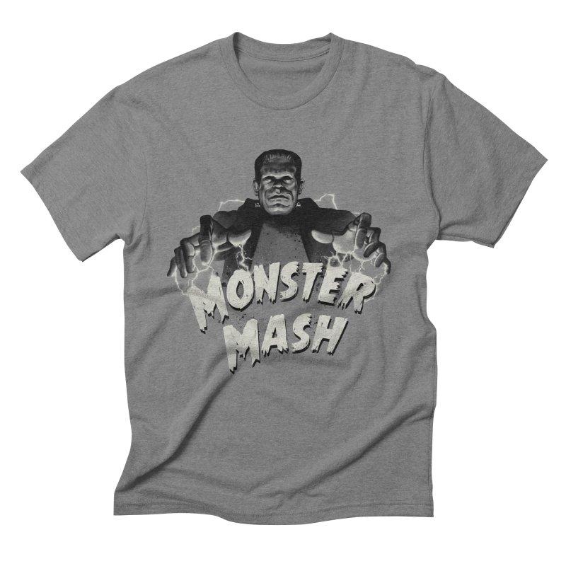 Monster Mash Men's Triblend T-Shirt by vincenttrinidad's Artist Shop