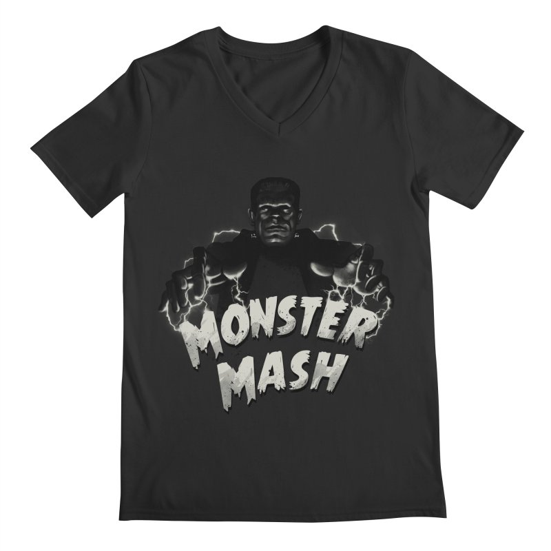Monster Mash Men's V-Neck by vincenttrinidad's Artist Shop