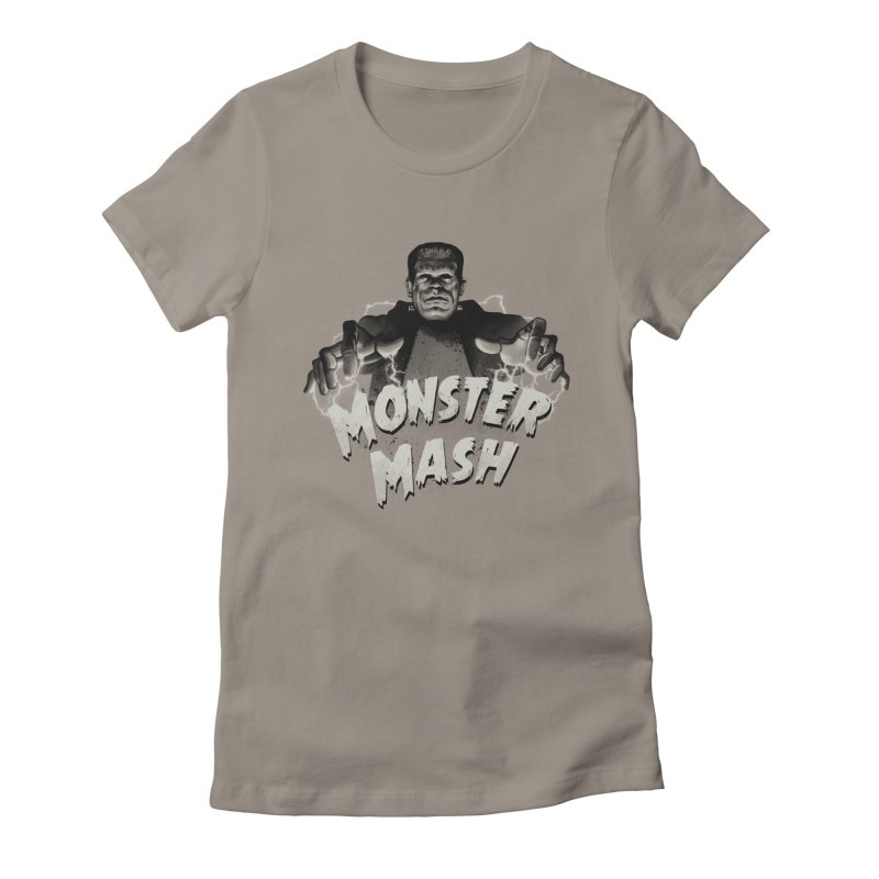 Monster Mash Women's Fitted T-Shirt by vincenttrinidad's Artist Shop