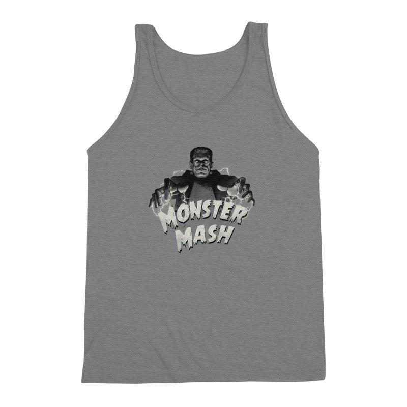 Monster Mash Men's Triblend Tank by vincenttrinidad's Artist Shop