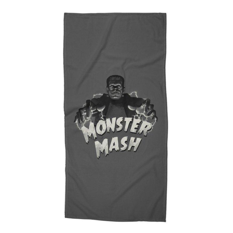 Monster Mash Accessories Beach Towel by vincenttrinidad's Artist Shop