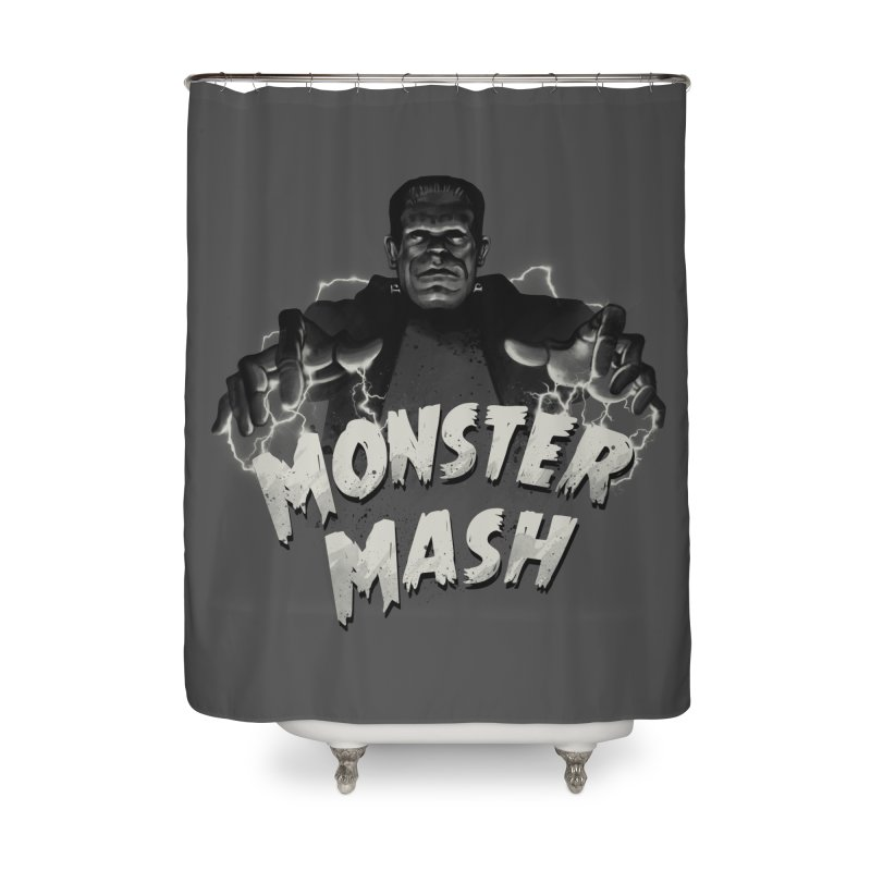 Monster Mash Home Shower Curtain by vincenttrinidad's Artist Shop