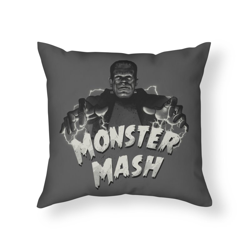 Monster Mash Home Throw Pillow by vincenttrinidad's Artist Shop