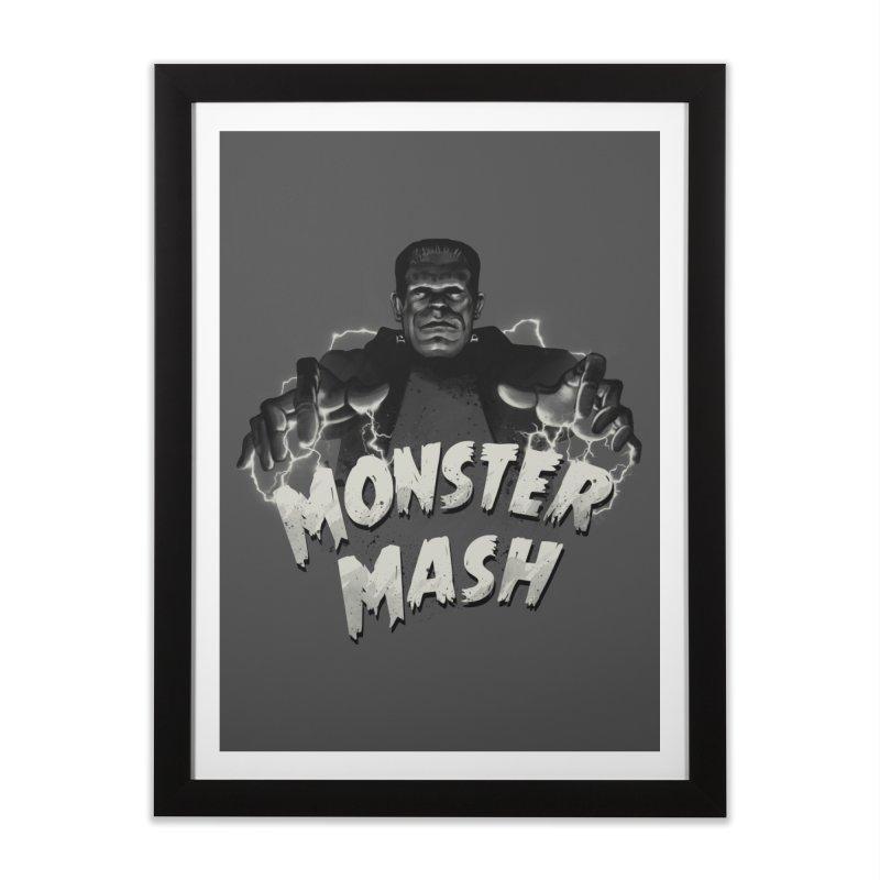 Monster Mash Home Framed Fine Art Print by vincenttrinidad's Artist Shop
