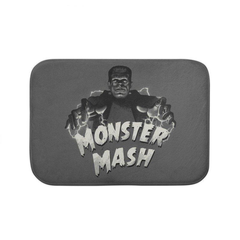Monster Mash Home Bath Mat by vincenttrinidad's Artist Shop