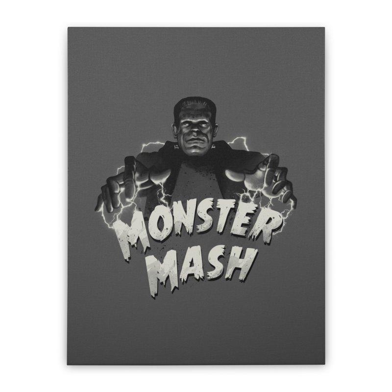 Monster Mash Home Stretched Canvas by vincenttrinidad's Artist Shop