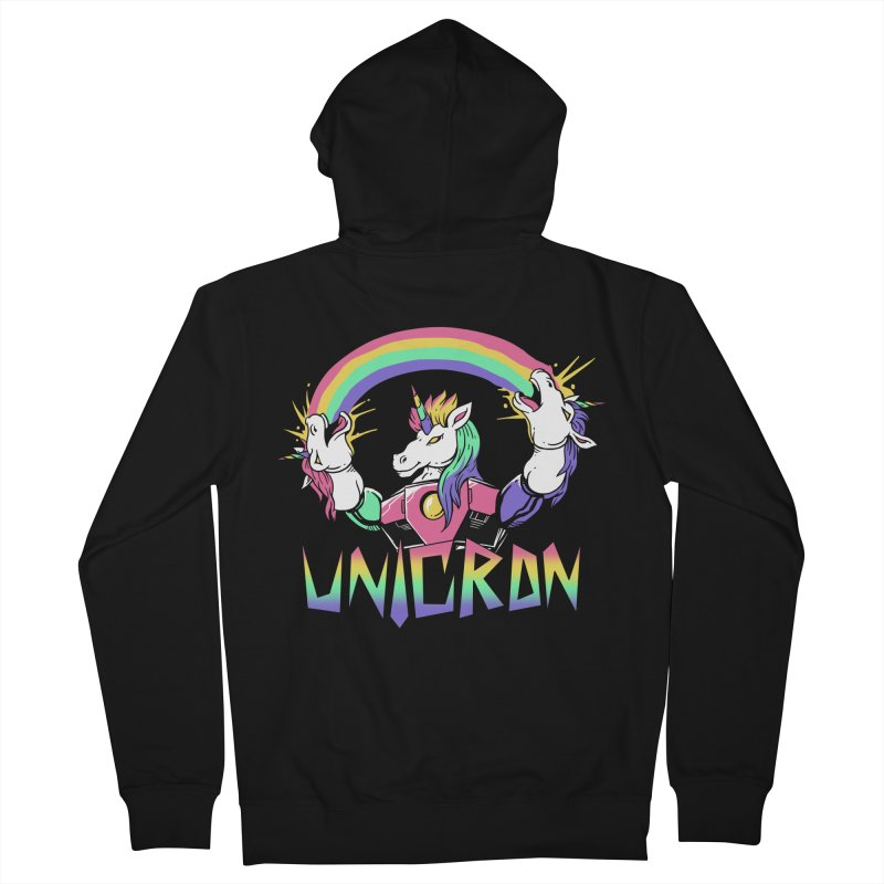 Unicron Women's Zip-Up Hoody by vincenttrinidad's Artist Shop