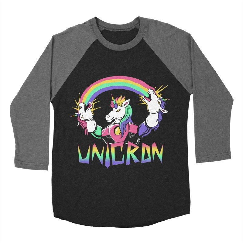 Unicron Men's Baseball Triblend T-Shirt by vincenttrinidad's Artist Shop