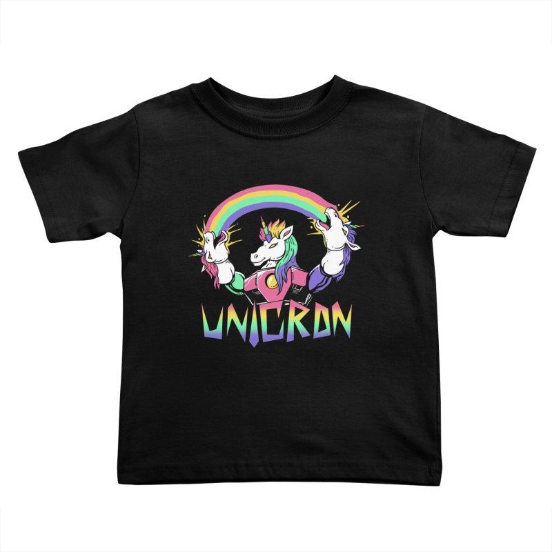 Unicron Kids Toddler T-Shirt by vincenttrinidad's Artist Shop