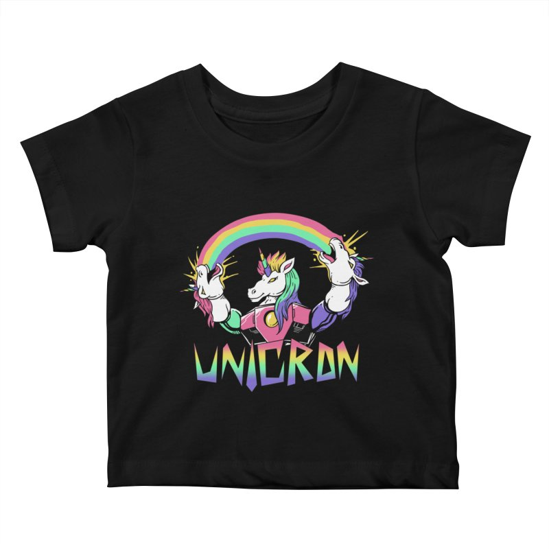 Unicron Kids Baby T-Shirt by vincenttrinidad's Artist Shop
