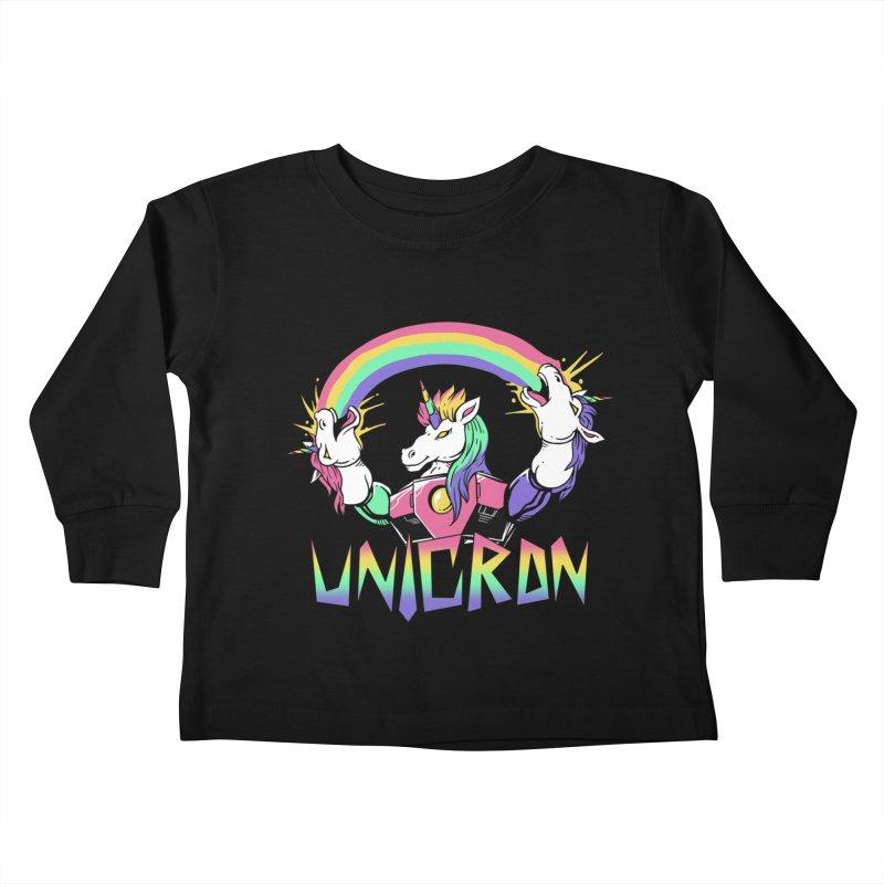 Unicron Kids Toddler Longsleeve T-Shirt by vincenttrinidad's Artist Shop