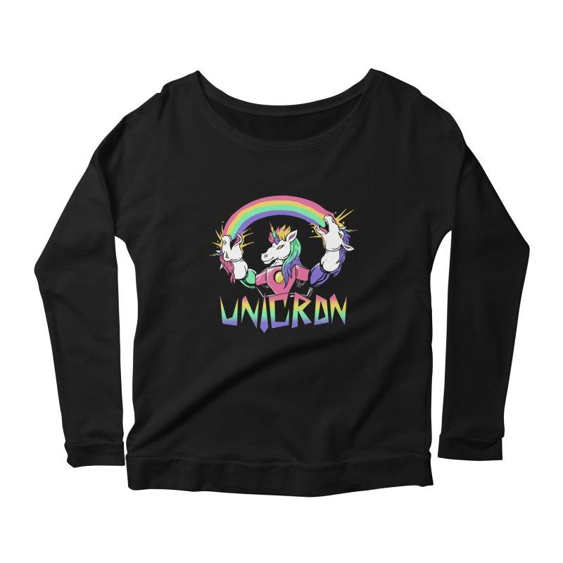 Unicron Women's Longsleeve Scoopneck  by vincenttrinidad's Artist Shop