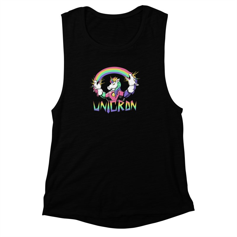 Unicron Women's Muscle Tank by vincenttrinidad's Artist Shop