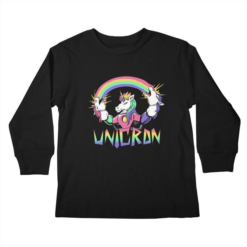 Unicron Kids Longsleeve T-Shirt by vincenttrinidad's Artist Shop