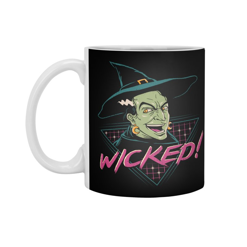 Wicked Witch! Accessories Mug by vincenttrinidad's Artist Shop