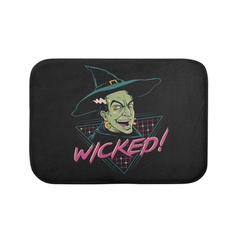 Wicked Witch! Home Bath Mat by vincenttrinidad's Artist Shop