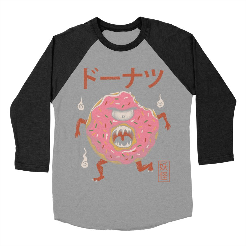 Yokai Donut Men's Baseball Triblend T-Shirt by vincenttrinidad's Artist Shop