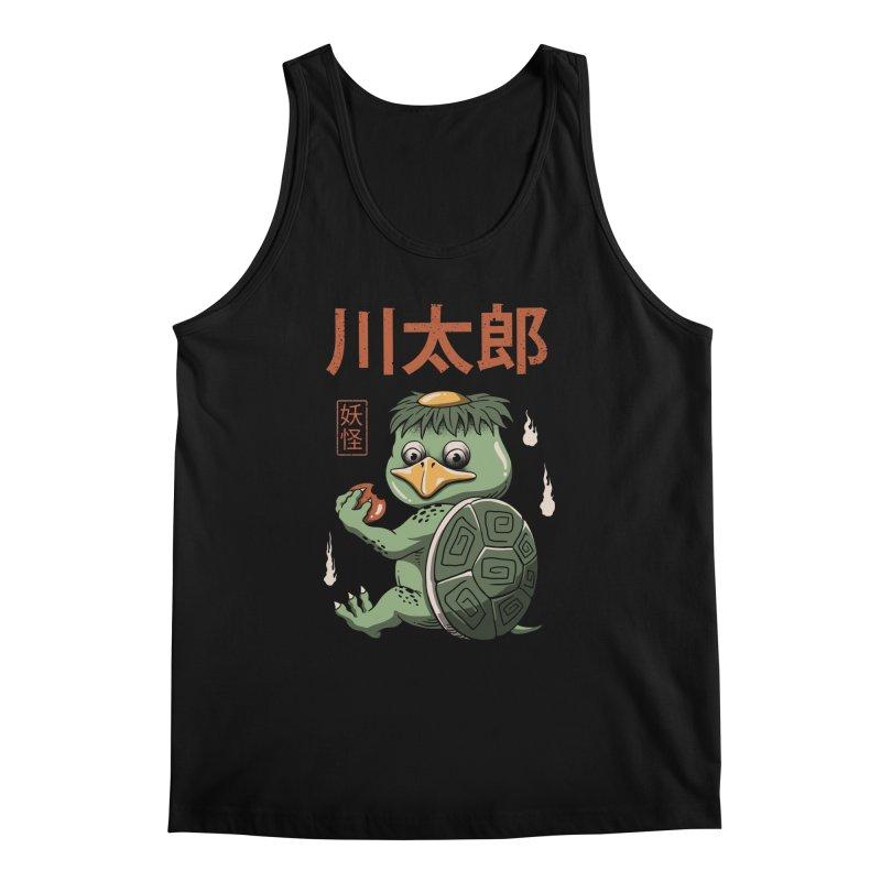 Yokai Turtle Men's Tank by vincenttrinidad's Artist Shop