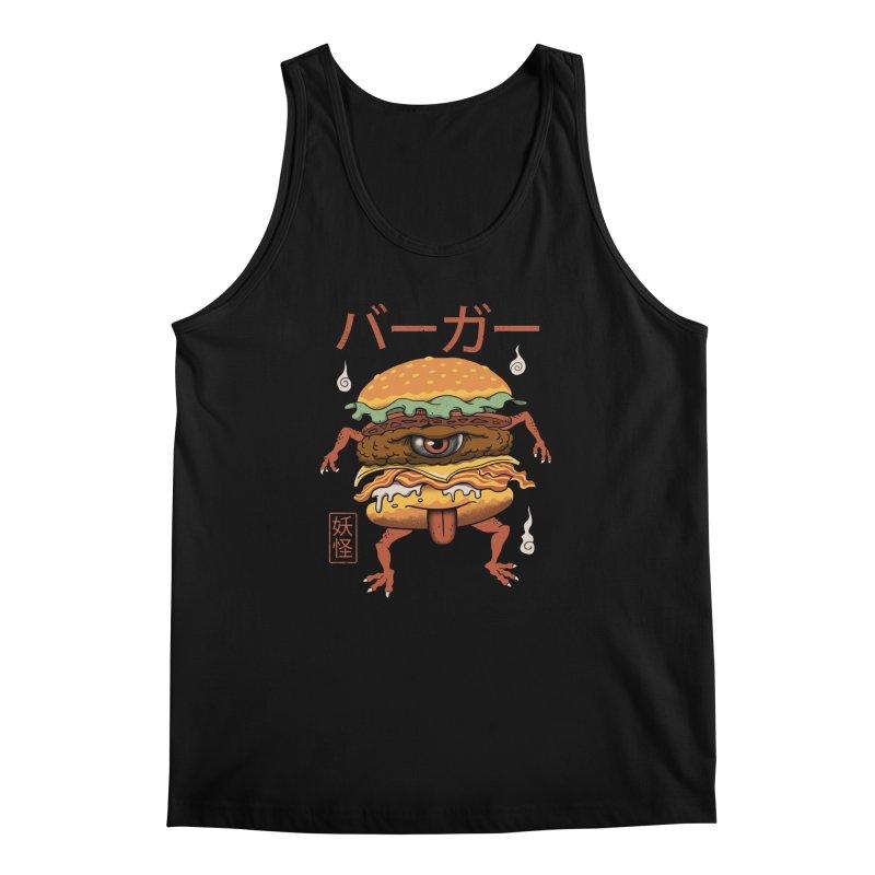 Yokai Burger Men's Tank by vincenttrinidad's Artist Shop