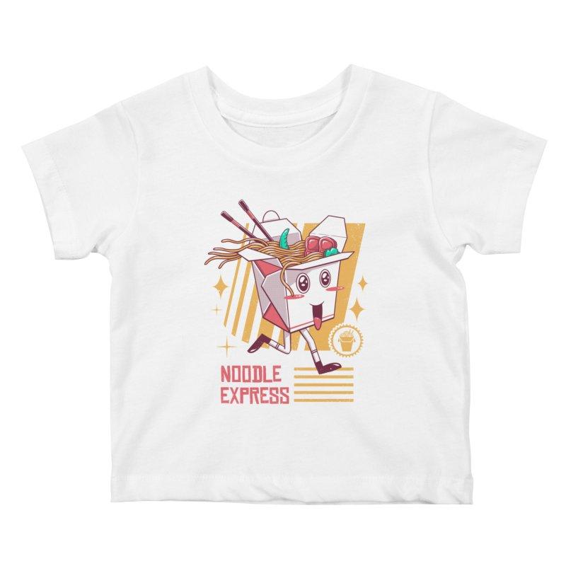 Noodle Express Kids Baby T-Shirt by vincenttrinidad's Artist Shop