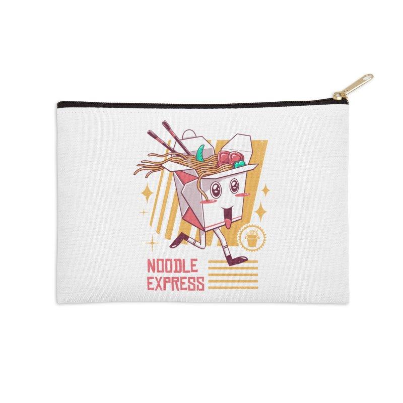 Noodle Express Accessories Zip Pouch by vincenttrinidad's Artist Shop
