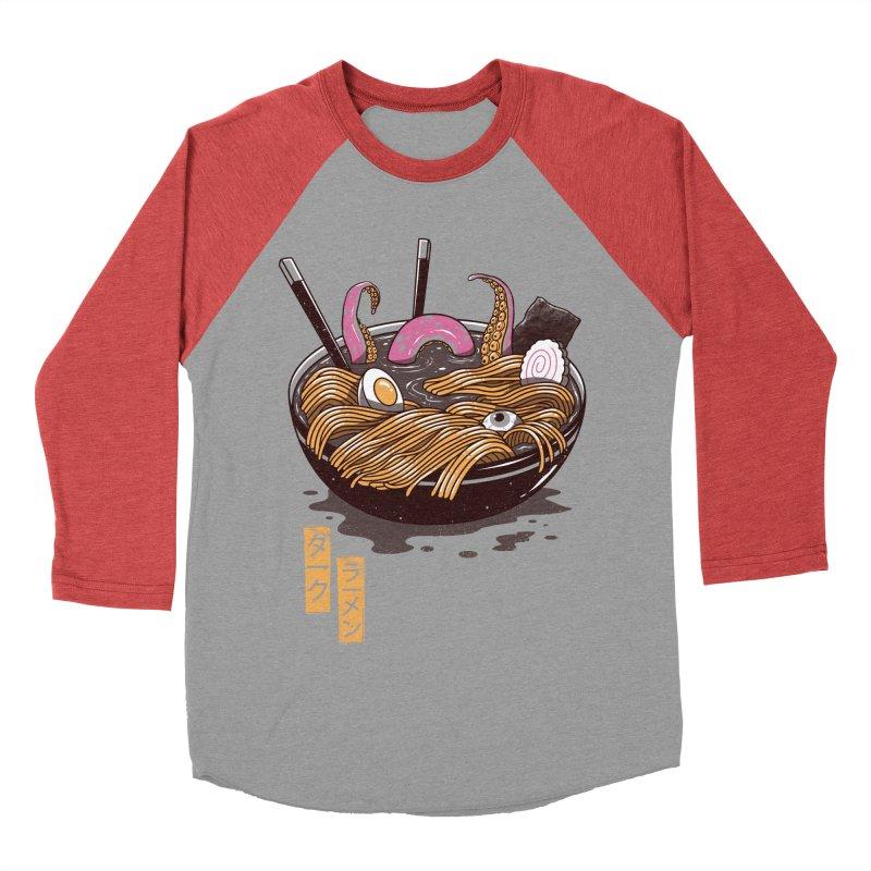 Dark Ramen Women's Baseball Triblend T-Shirt by vincenttrinidad's Artist Shop