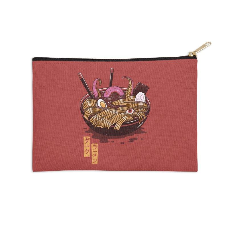 Dark Ramen Accessories Zip Pouch by vincenttrinidad's Artist Shop