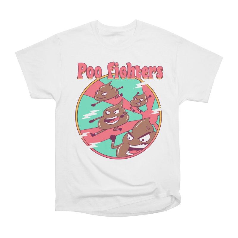 Poo Fighters Women's Heavyweight Unisex T-Shirt by vincenttrinidad's Artist Shop