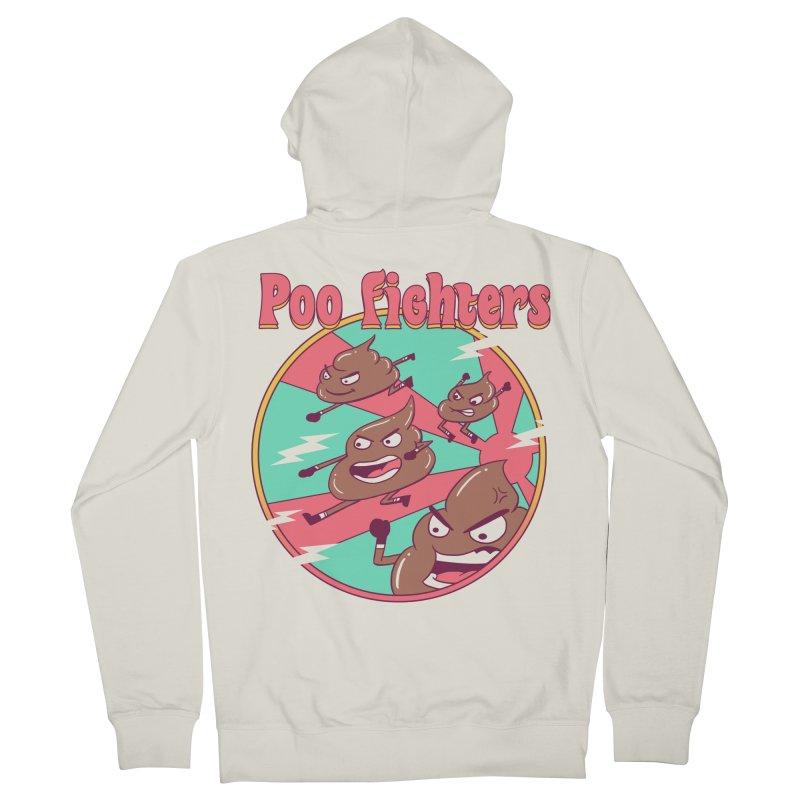 Poo Fighters Men's Zip-Up Hoody by vincenttrinidad's Artist Shop