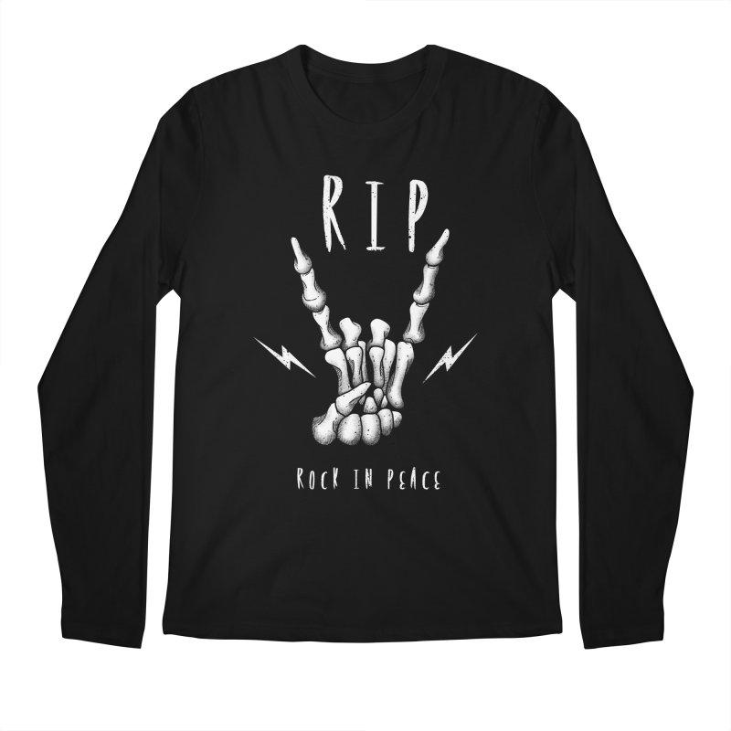 Rock in Peace Men's Longsleeve T-Shirt by vincenttrinidad's Artist Shop