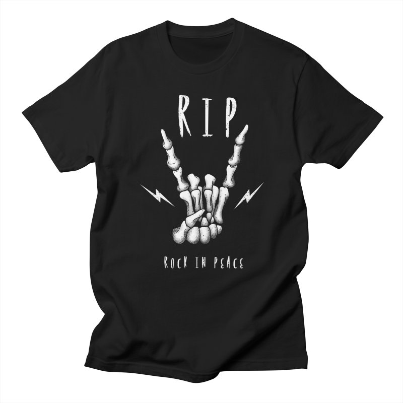 Rock in Peace Women's Unisex T-Shirt by vincenttrinidad's Artist Shop