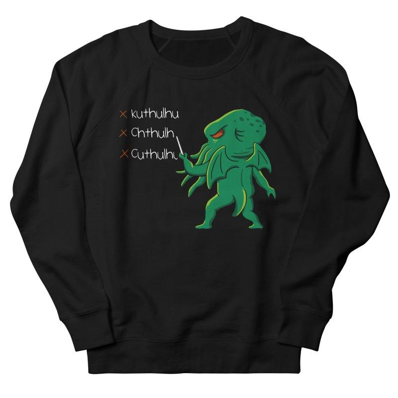 Crafty Spelling Men's Sweatshirt by vincenttrinidad's Artist Shop