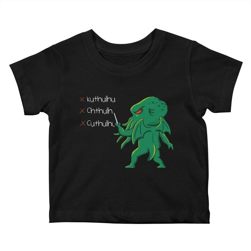 Crafty Spelling Kids Baby T-Shirt by vincenttrinidad's Artist Shop