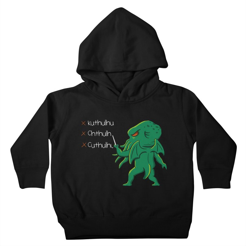 Crafty Spelling Kids Toddler Pullover Hoody by vincenttrinidad's Artist Shop