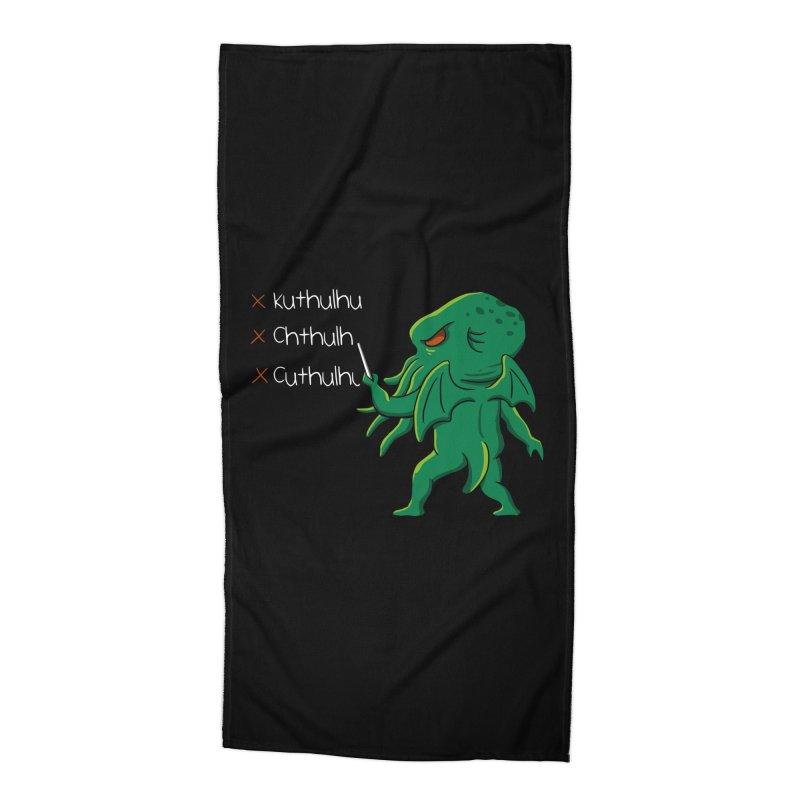 Crafty Spelling Accessories Beach Towel by vincenttrinidad's Artist Shop