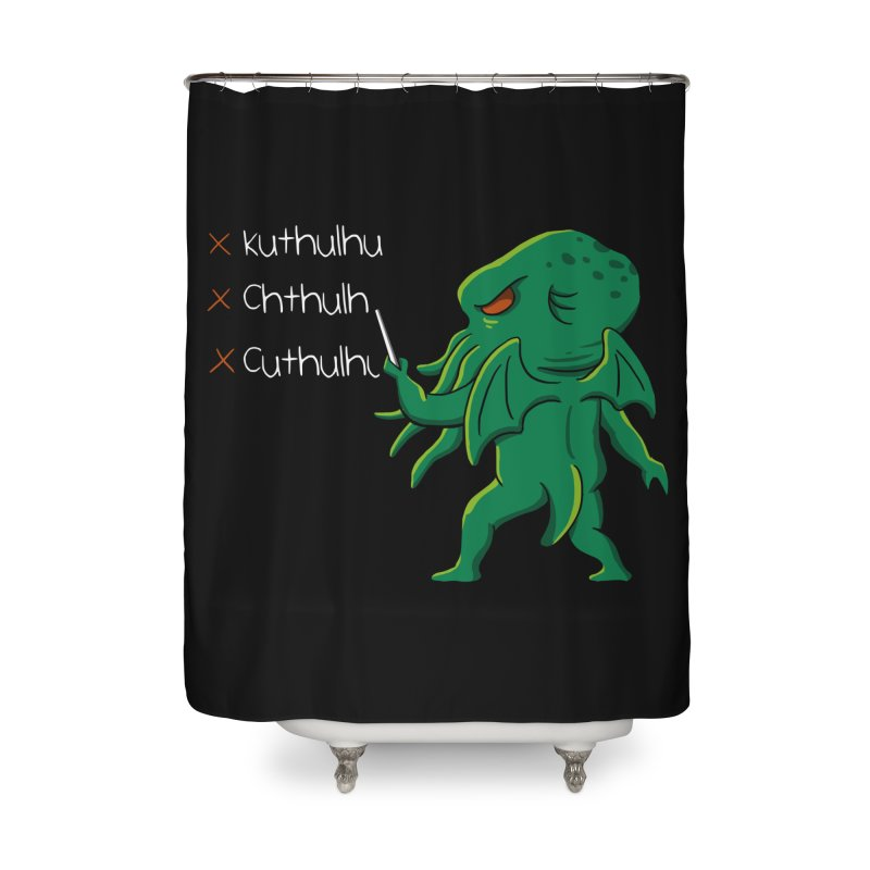 Crafty Spelling Home Shower Curtain by vincenttrinidad's Artist Shop