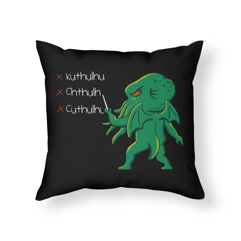 Crafty Spelling Home Throw Pillow by vincenttrinidad's Artist Shop