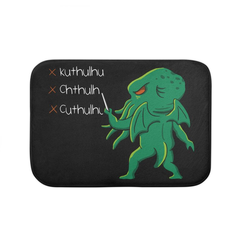 Crafty Spelling Home Bath Mat by vincenttrinidad's Artist Shop