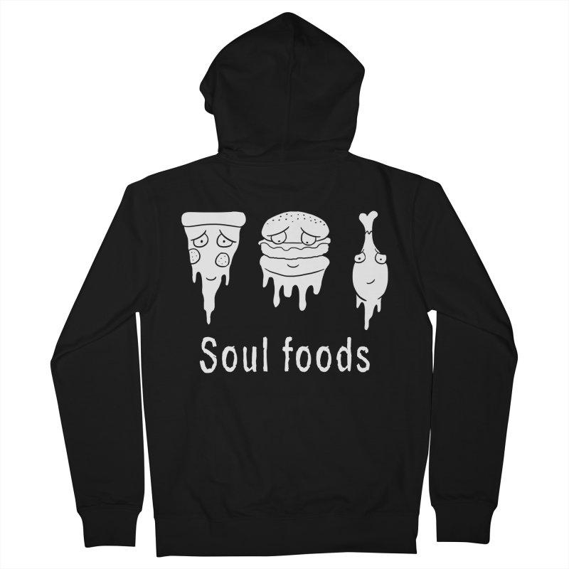 Soul Foods Men's Zip-Up Hoody by vincenttrinidad's Artist Shop