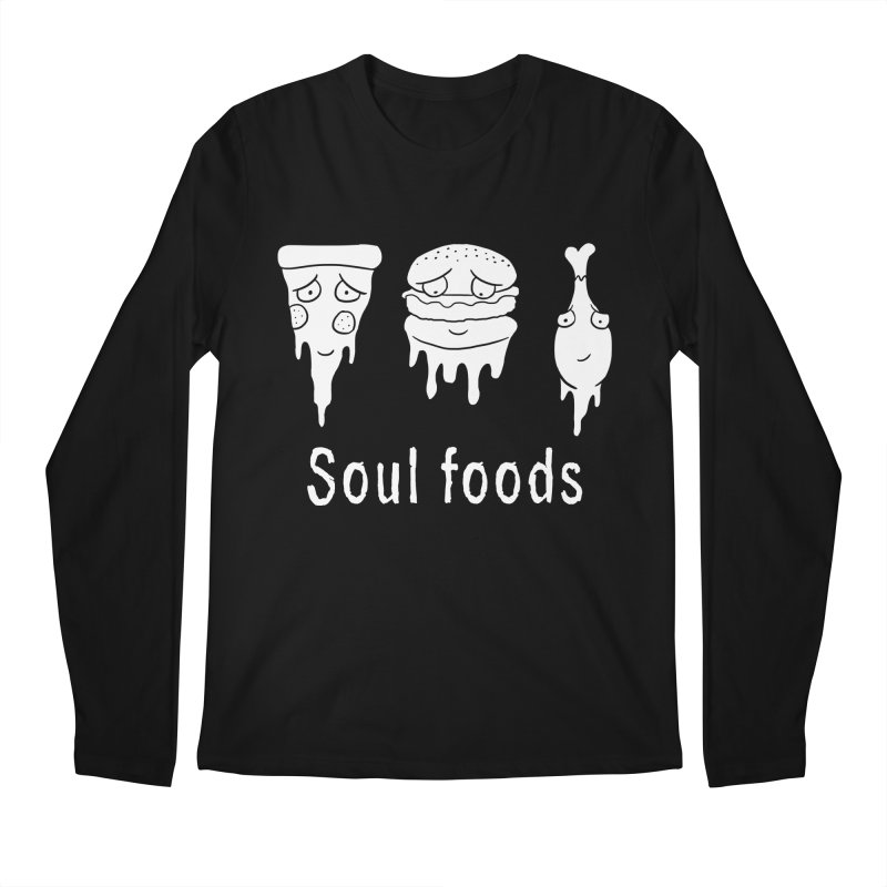 Soul Foods Men's Longsleeve T-Shirt by vincenttrinidad's Artist Shop