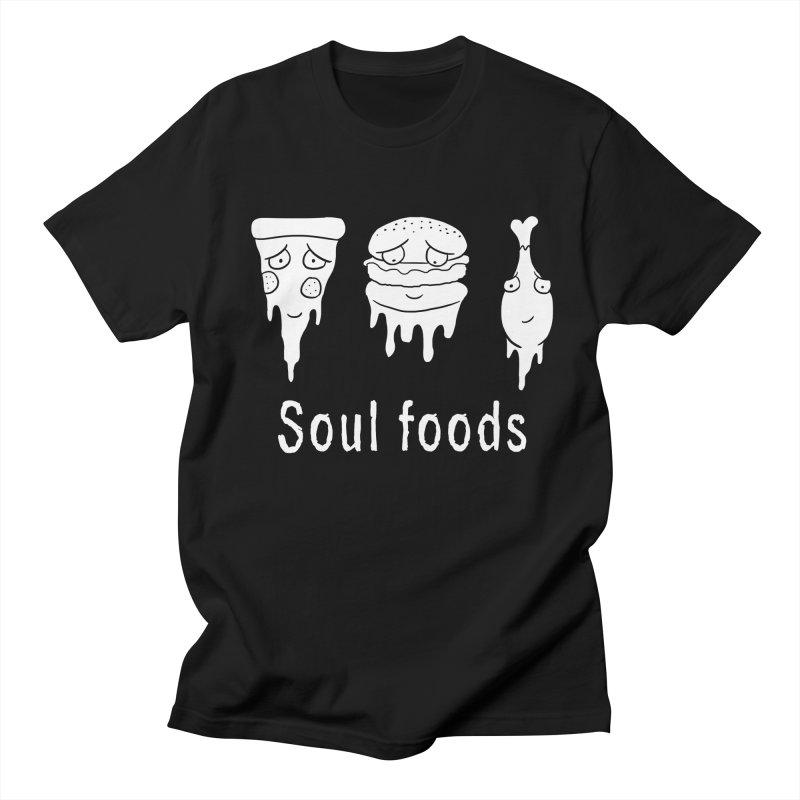 Soul Foods Men's T-Shirt by vincenttrinidad's Artist Shop