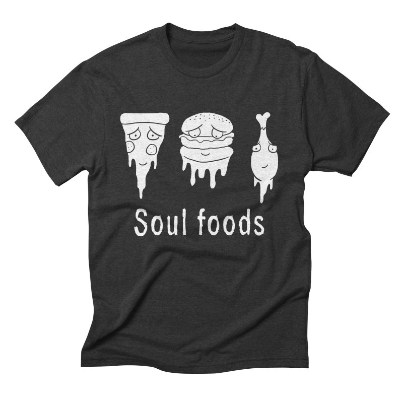 Soul Foods Men's Triblend T-Shirt by vincenttrinidad's Artist Shop
