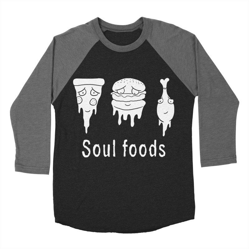 Soul Foods Women's Baseball Triblend T-Shirt by vincenttrinidad's Artist Shop