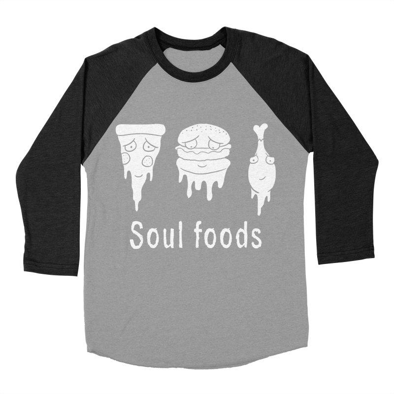 Soul Foods Men's Baseball Triblend T-Shirt by vincenttrinidad's Artist Shop