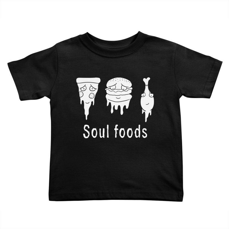 Soul Foods Kids Toddler T-Shirt by vincenttrinidad's Artist Shop
